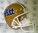 Pittsburgh Panthers Autographed Full Size Riddell Deluxe Replica Football Helmets