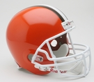 Cleveland Browns 1975-2005 Throwback Riddell NFL Full Size Deluxe Replica Football Helmet