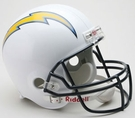San Diego Chargers Riddell NFL Full Size Deluxe Replica Football Helmet
