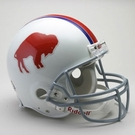 Buffalo Bills 1965-1973 Throwback Riddell Authentic NFL Full Size On Field Proline Football Helmet