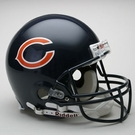 Chicago Bears Riddell Authentic NFL Full Size On Field Proline Football Helmet