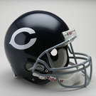 Chicago Bears 1962-1973 Throwback Riddell Authentic NFL Full Size On Field Proline Football Helmet