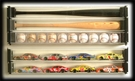 Baseball Bat Display Case - Single