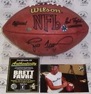 Autographed Wilson Official NFL & NCAA Footballs