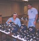 Dan Hampton signing - April 13, 2002