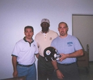 John Stallworth signing - April 20, 2002