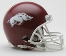 Arkansas Razorbacks Autographed Mini Helmets