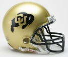Colorado Buffaloes Autographed Mini Helmets