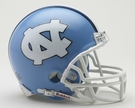 North Carolina Autographed Mini Helmets