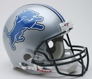 Detroit Lions Riddell Authentic NFL Full Size On Field Proline Football Helmet