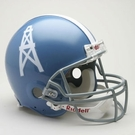 Houston Oilers 1960-1962 Throwback Riddell Authentic NFL Full Size On Field Proline Football Helmet