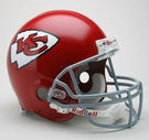 Kansas City Chiefs 1963-1973 Throwback Riddell Authentic NFL Full Size On Field Proline Football Helmet