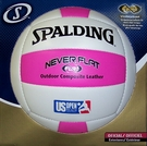 Spalding King of the Beach NEVER FLAT Outdoor Volleyball