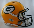 Green Bay Packers Riddell Authentic Revolution Speed NFL Full Size On Field Football Helmet