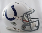 Indianapolis Colts Riddell Authentic Revolution Speed NFL Full Size On Field Football Helmet