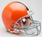 Cleveland Browns Autographed Full Size On Field Authentic Proline Helmets