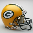 Green Bay Packers Autographed Full Size On Field Authentic Proline Helmets