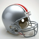 Ohio State Buckeyes Autographed Full Size Riddell Deluxe Replica Football Helmets