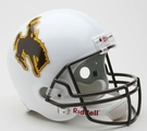 Wyoming Cowboys Autographed Full Size Riddell Deluxe Replica Football Helmets