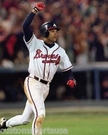 Dave Justice - Atlanta Braves - Autograph Signing August 2nd, 2014