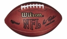Len Dawson - Autographed Official Wilson NFL Leather Game Full Size Football