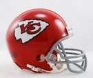 Len Dawson - Autographed Kansas City Chiefs Throwback Riddell Mini Football Helmet