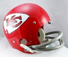 Len Dawson - Autographed Kansas City Chiefs Riddell Full Size TK Football Helmet