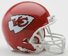 Kansas City Chiefs Autographed Mini Helmets