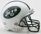 New York Jets Autographed Mini Helmets