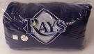 "Tampa Bay Rays Fleece Throw Blanket - 100% polyester - 50""x60"""