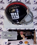 YA Tittle - Riddell - Autographed Mini Helmet - New York Giants