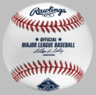 Official 2013 Colorado Rockies 20th Anniversary Rawlings Baseball