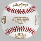 Rawlings Official 2012 World Series Champs Game Baseball - Model Number: WSBB12CHMP