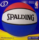 Spalding Full Size Red, White, and Blue Indoor / Outdoor 29.5 Basketball - 63649