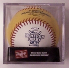 Rawlings Official 2013 Gold Home Run Derby Baseball w/Display Case - Model Number: ROMLBGB13-R