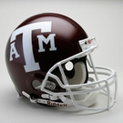 Texas A&M Aggies Autographed Full Size On Field Authentic Proline Helmets
