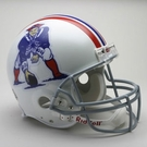 New England Patriots 1965-1981 Throwback Riddell Authentic NFL Full Size On Field Proline Football Helmet