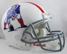 New England Patriots 1961-1964 Throwback Riddell Authentic NFL Full Size On Field Proline Football Helmet