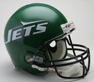 New York Jets 1990-1997 Throwback Riddell Authentic NFL Full Size On Field Proline Football Helmet