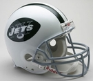New York Jets 1965-1977 Throwback Riddell Authentic NFL Full Size On Field Proline Football Helmet