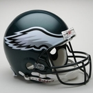 Philadelphia Eagles Riddell Authentic NFL Full Size On Field Proline Football Helmet