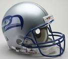 Seattle Seahawks 1983-2001 Throwback Riddell Authentic NFL Full Size On Field Proline Football Helmet