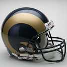 St. Louis Rams Riddell Authentic NFL Full Size On Field Proline Football Helmet