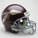 Washington Redskins 1965-1969 Throwback Riddell Authentic NFL Full Size On Field Proline Football Helmet