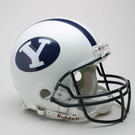Brigham Young Cougars BYU Riddell Authentic NCAA Full Size On Field Proline Football Helmet