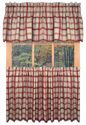 Curtains Ideas 36 inch cafe curtains : Designer Kitchen Curtains - TheCurtainShop.com