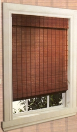 36 x 84 Sun Sheer Bamboo PATIO DOOR Roman Shade