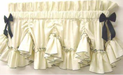 Country Style Curtains Valances - Rooms