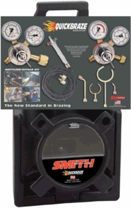 Smith Quickbraze Air Conditioning/Refrigeration Caddy Outfit 23-5004A