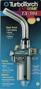TurboTorch Extreme TX-504 Propane/MAPP Torch 0386-1293